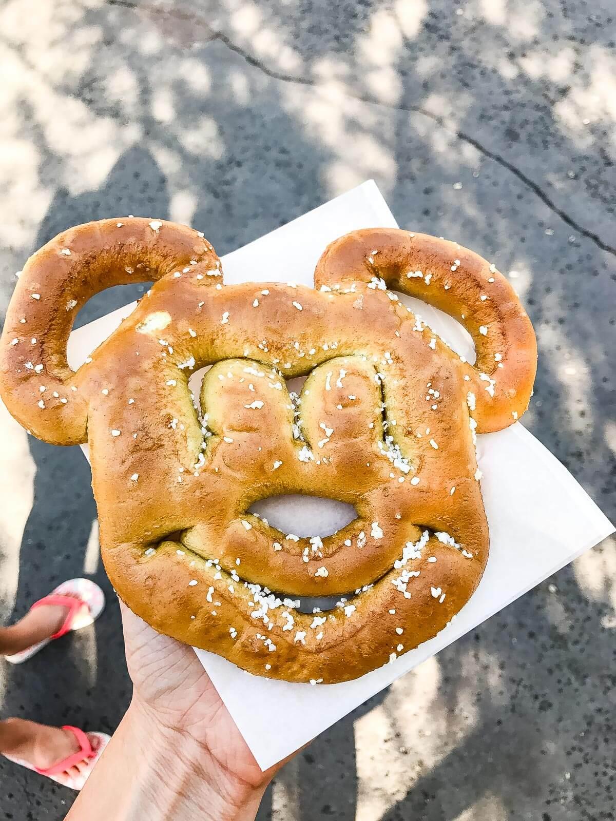 mickey mouse pretzel disneyland ohsweetbasil.com