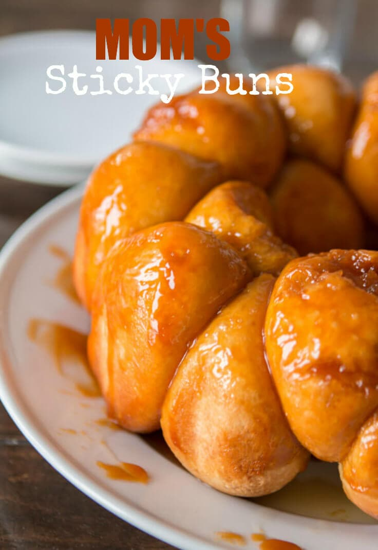 We have had these my whole life and everyone must try them. They are so soft and light. Seriously delicious! My mom's sticky buns are amazing!