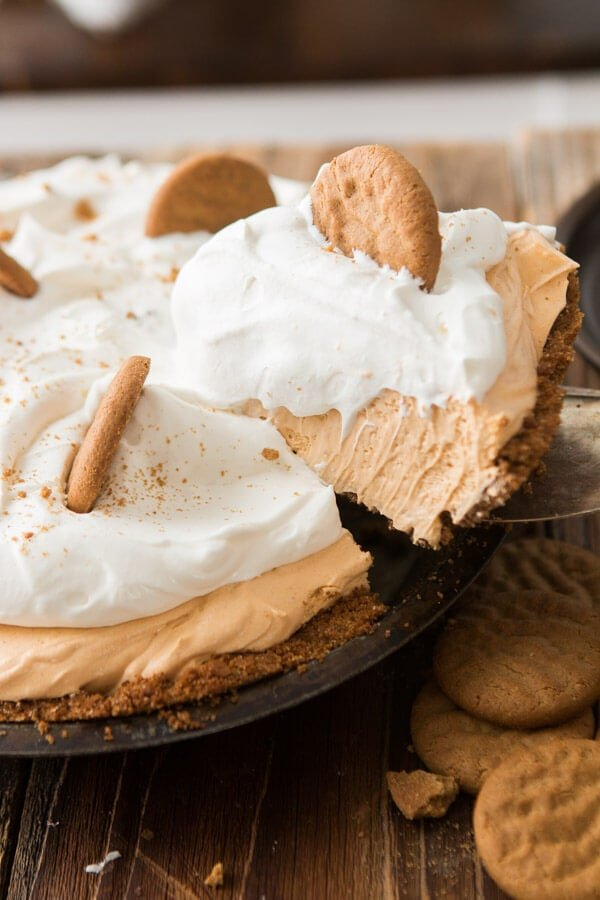 No bake pumpkin pie with gingersnap crust has become the most asked for recipe around the holidays and once you try it you'll know why! ohsweetbasil.com