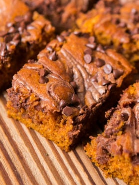 Well this is it, the only pumpkin recipe you need for the entire holiday season. I know, I've posted a lot of pumpkin but Nutella Swirled Pumpkin Bars are the winners. ohsweetbasil.com