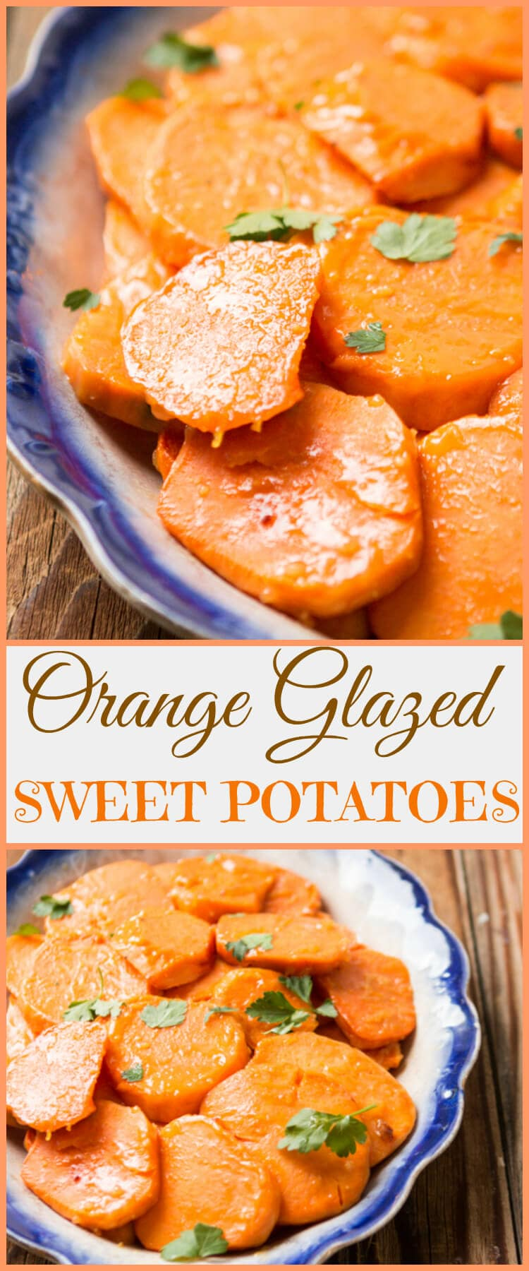 No need for these orange glazed sweet potatoes to be saved just for your holiday festivities, they make for a great addition to any meal! ohsweetbasil.com