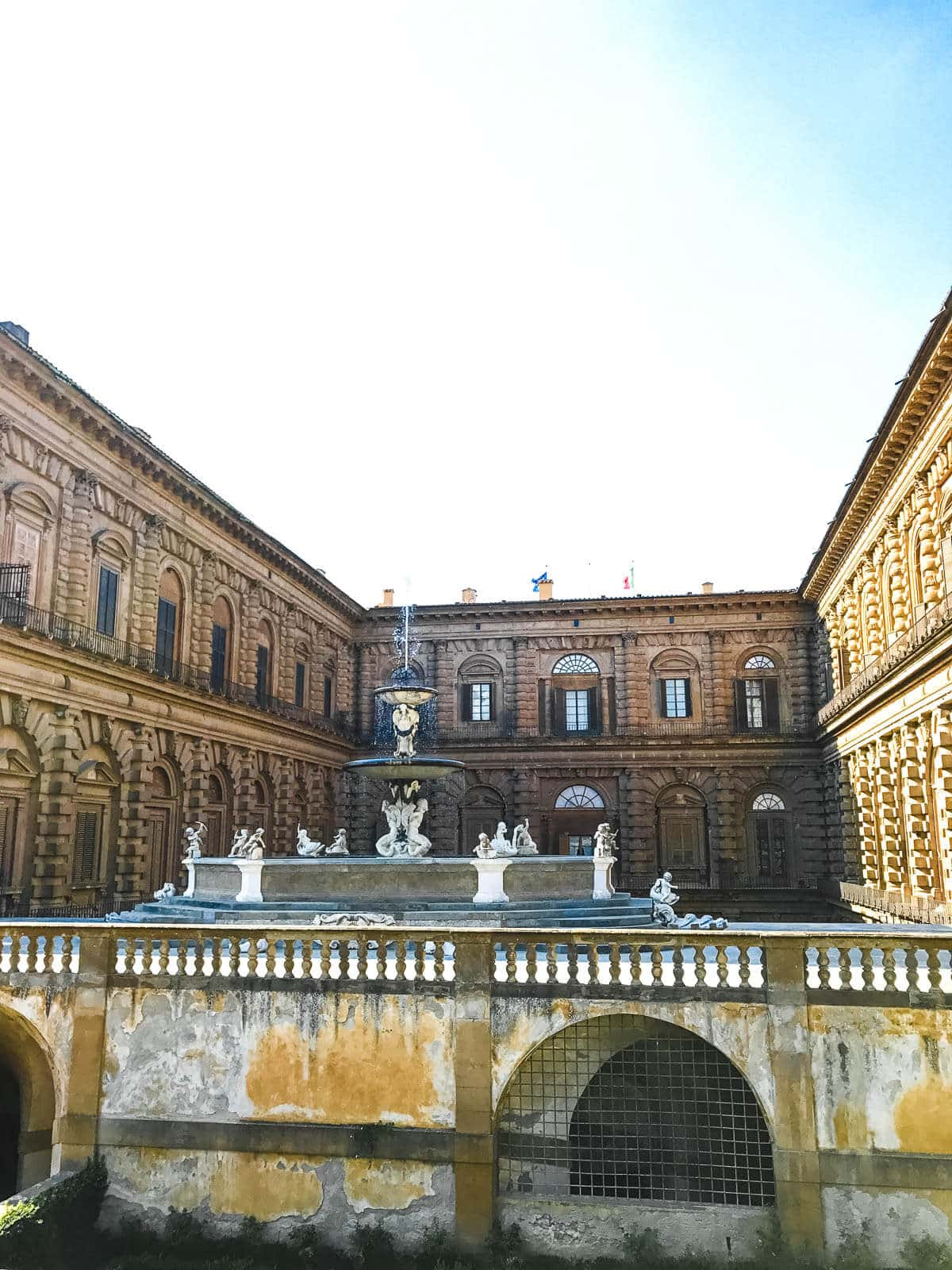 Don't miss visiting the Palazzo Pitti in Florence Italy and wander through what was the powerful Medici's wife's gardens. ohsweetbasil.com