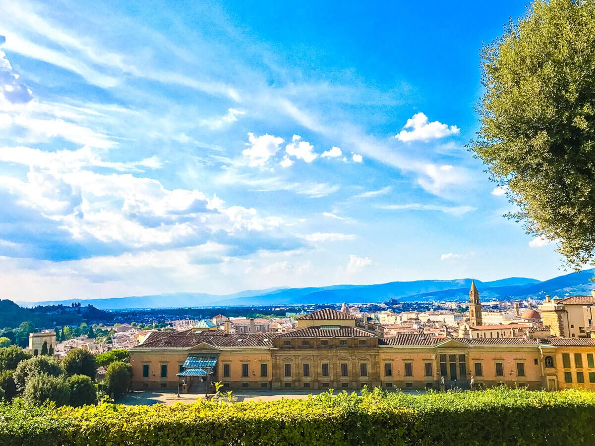 Palazzo Pitti and the Boboli Gardens, is it worth it? only if you want to see spectacular views and a ginormous palace. Yes, it's worth it!! ohsweetbasil.com