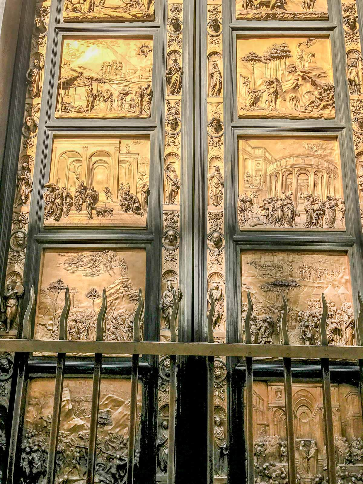 Gates of Paradise in Florence, Italy ohsweetbasil.com