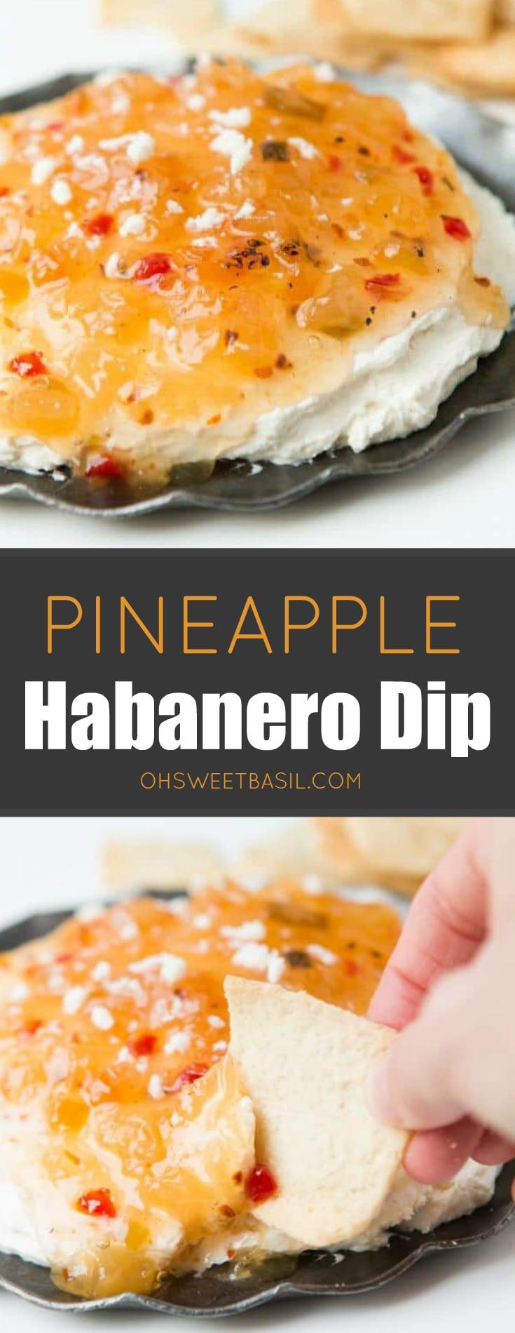 Pineapple Habanero Dip