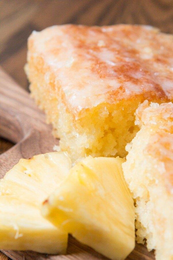 Moist Lemon Jello Cake Recipe