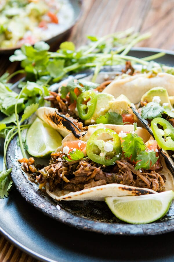 Taco Tuesday is all the rage these days, but you've never had tacos quite like these poblano braised beef tacos. Best meat ever! ohsweetbasil.com It's that time of year again. In case your family is like ours and you want an extra special day we have a Father's Day Recipes Roundup to help!
