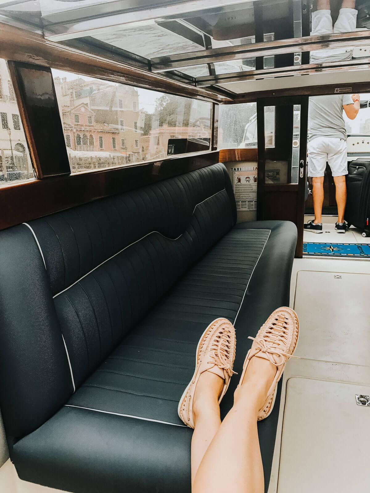 Traveling and planning on doing a lot of walking and sightseeing? Make sure you pack a pair of Sperry Gold Cup Boat shoes for him and Huaraches for her. Best shoes for traveling that wont give you aching feet or blisters. ohsweetbasil.com