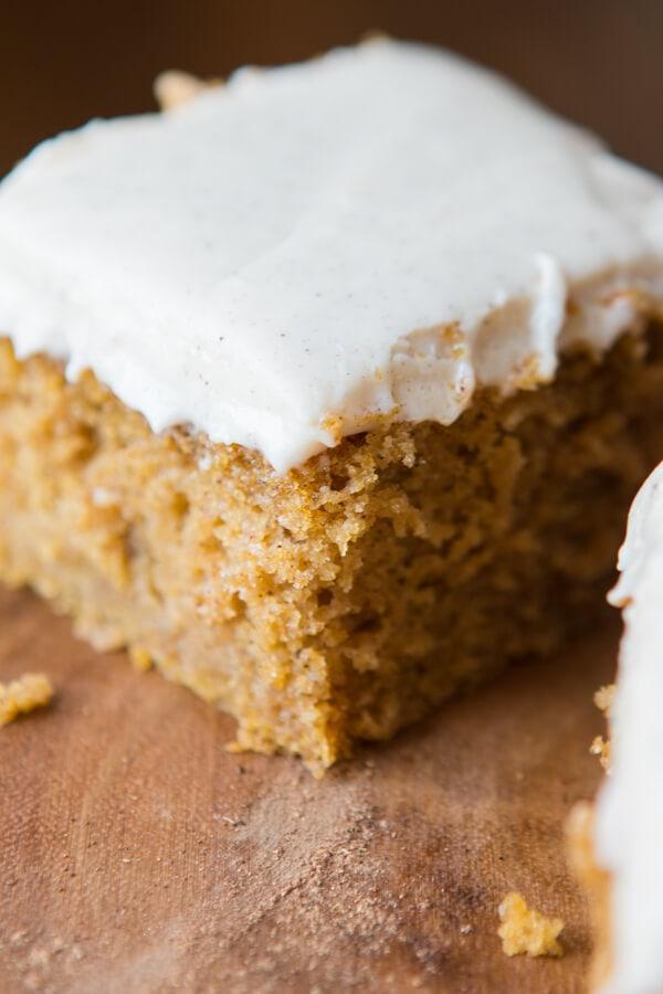 Pumpkin Cake with Cinnamon White Chocolate Cream Cheese ...