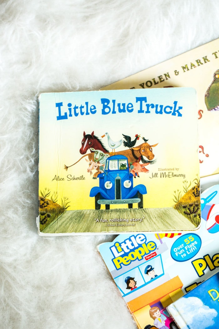 The Little Blue Truck and all the other books for toddler boys ohsweetbasil.com