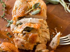 Feeling a little nervous about cooking a whole turkey for Thanksgiving? Don't! We love doing an herb roasted turkey breast and forgetting the stress!