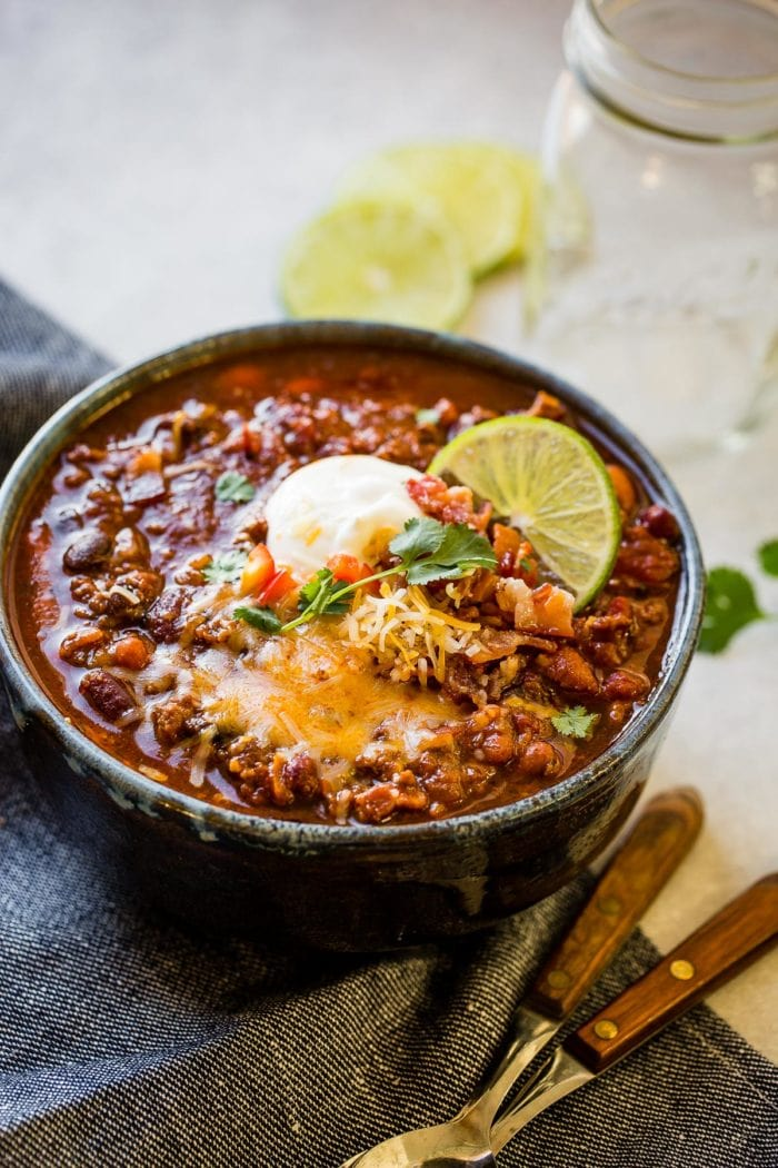 Ground Beef Chili Recipe Slow Cooker