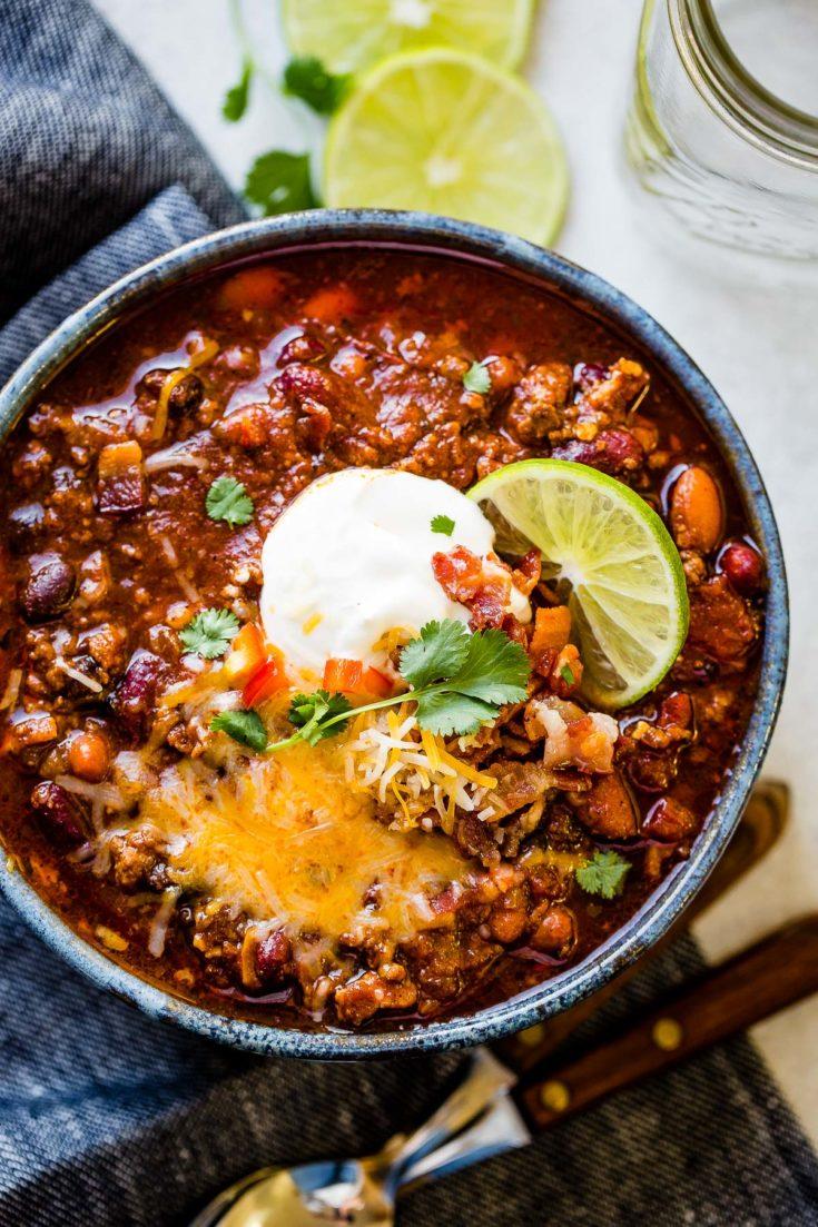 Award Winning Instant Pot Chili Recipe Oh Sweet Basil