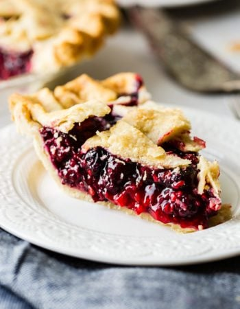 I've searched for the perfect razzleberry pie recipe and I've found it! Razzleberry pie or mixed berry pie has raspberries, blueberries and blackberries.