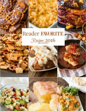 Every year we look back what the favorite recipes of the year were and this year I didn't guess a single one! Here's the top ten recipes for 2016!
