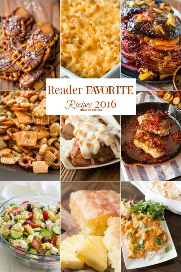 reader favorites ohsweetbasil.com