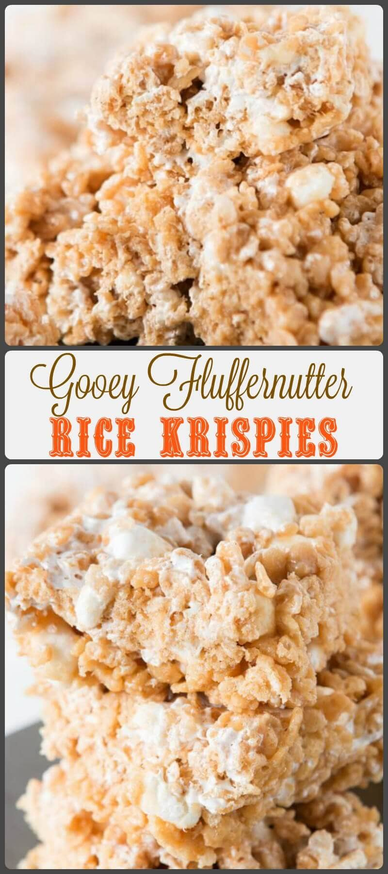 Now I understand. All these years I've thought it was a little silly when parents said that their duty was to embarrass their kids, and while I still think that's a tad ridiculous, but I totally think it's necessary sometimes. As are these Gooey Fluffernutter Rice Krispies... ohsweetbasil.com