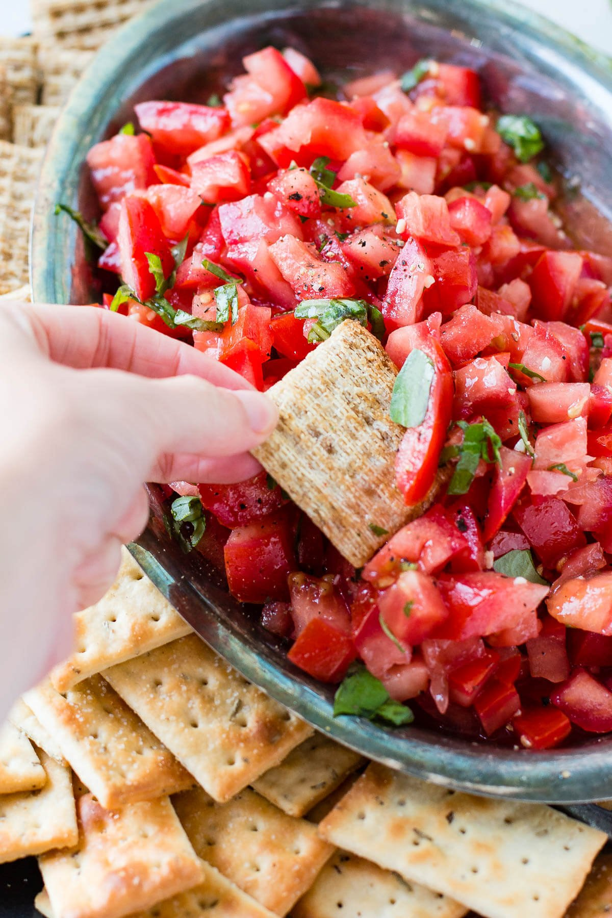 It doesn't take traveling to Italy to know that the simple, classic bruschetta appetizer recipe is the perfect way to use summer tomatoes or impress holiday guests.