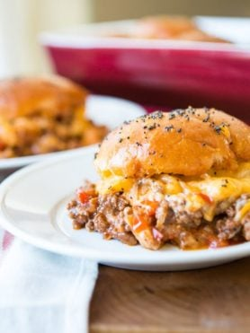 Well I've officially put on my fat pants and made the ultimate comfort food, sloppy joe sliders. That's right saucy sloppy joes in a whole new way. ohsweetbasil.com