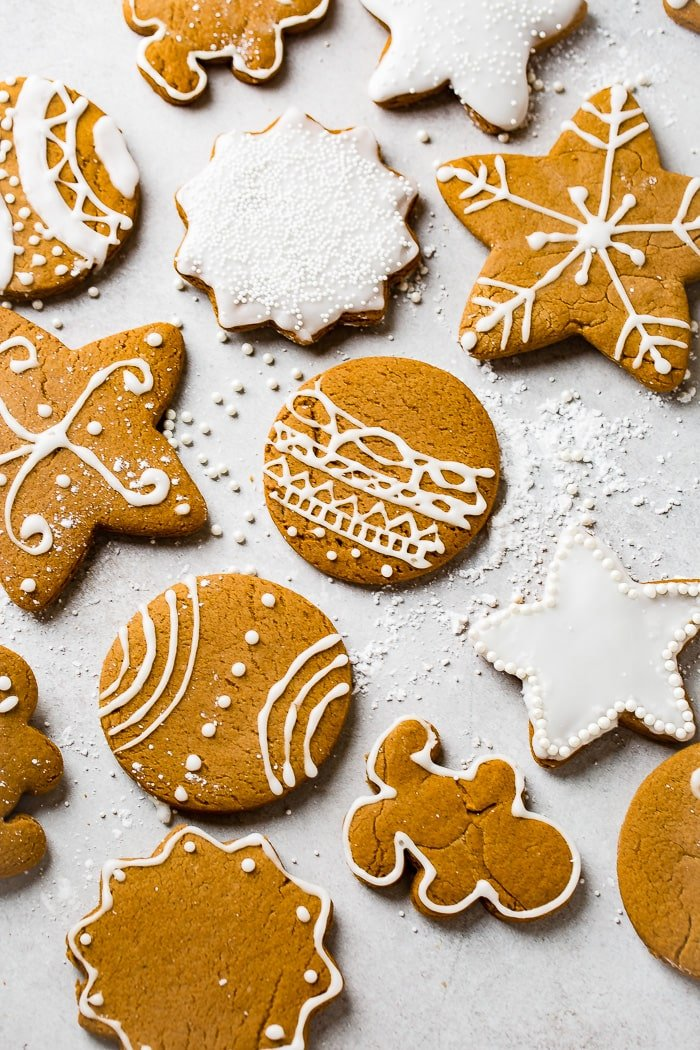 The Best Soft Gingerbread Cookies Recipe Oh Sweet Basil