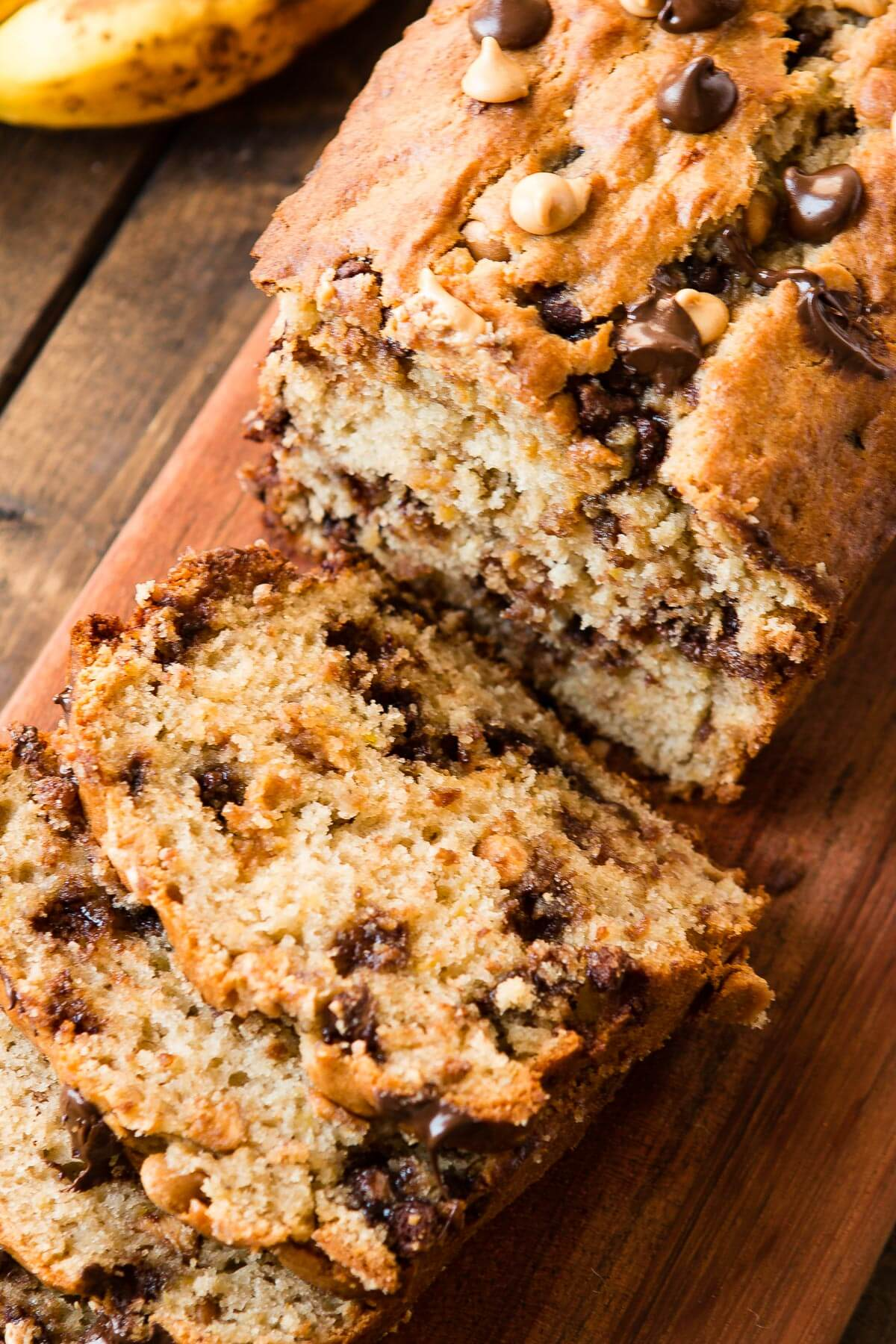 How to make the most delicious banana bread that is super moist and full of flavor. Add peanut butter! ohsweetbsail.com
