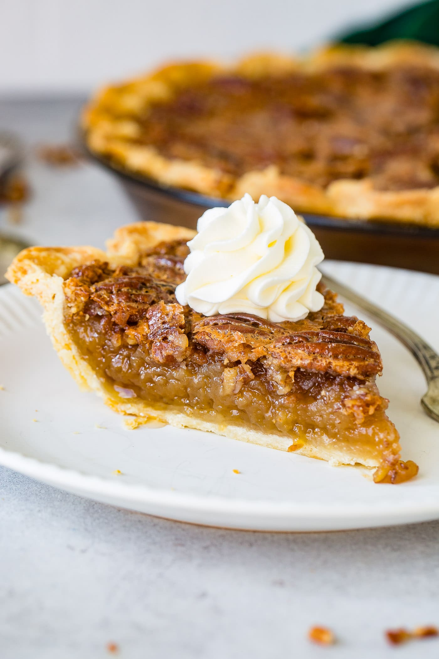 Perfectly Southern Pecan Pie Oh Sweet Basil