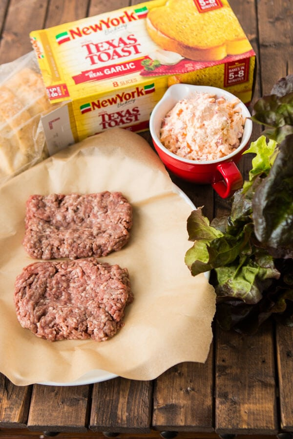 A southern burger needs two things, gooey pimento cheese and fat Texas toast. ohsweetbasil.com