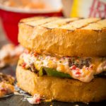 Every year we bring the best burger of the summer. This year is a Southern Pimento Cheeseburger on Texas Toast!