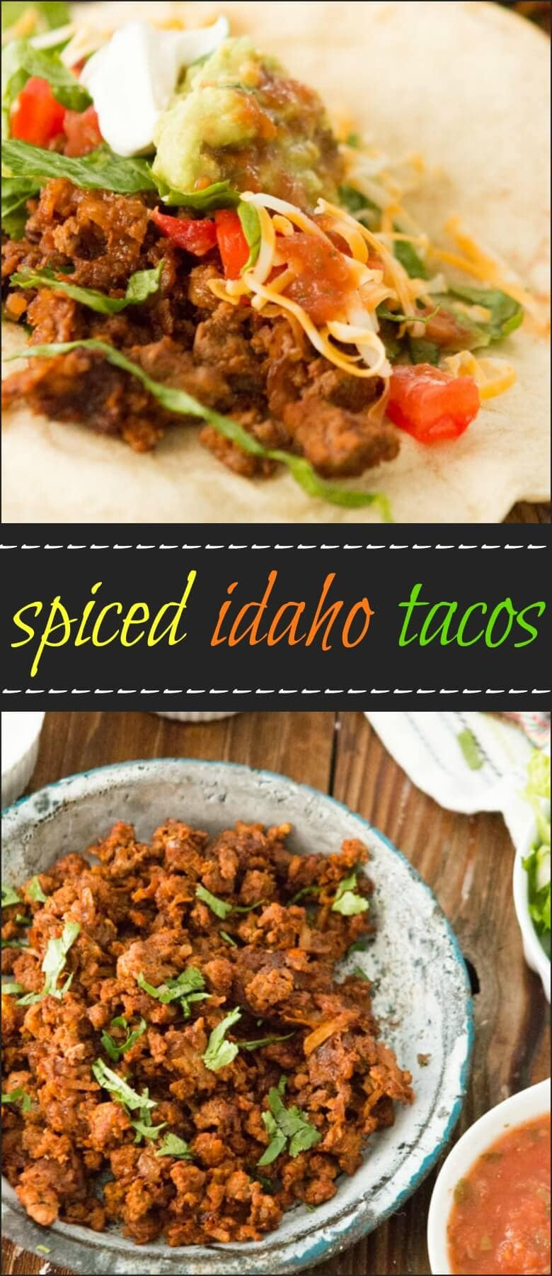 Spiced Idaho Tacos, you have to try it to get the secret ohsweetbasil.com