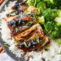 Sticky Asian Grilled Chicken Breasts [+ Video]