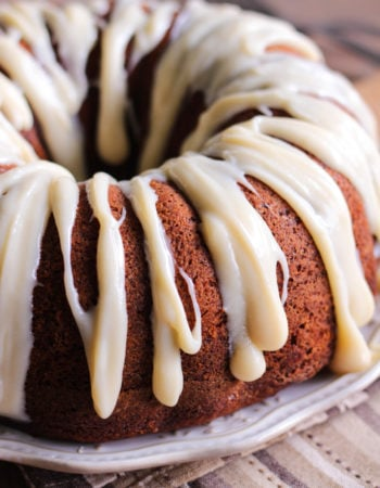 Cinnamon Ripple Sweet Potato Bundt Cake