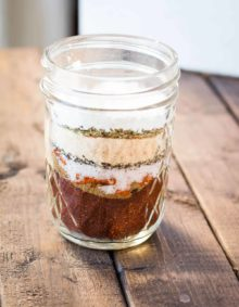 Everyone should try keeping a jar of homemade taco seasoning in their spice cupboard. It's so much more flavorful, is easy to make and stores so well!