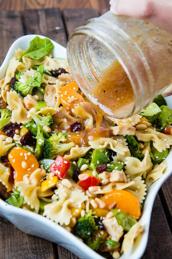 Teriyaki Chicken Pasta Salad Oh Sweet Basil