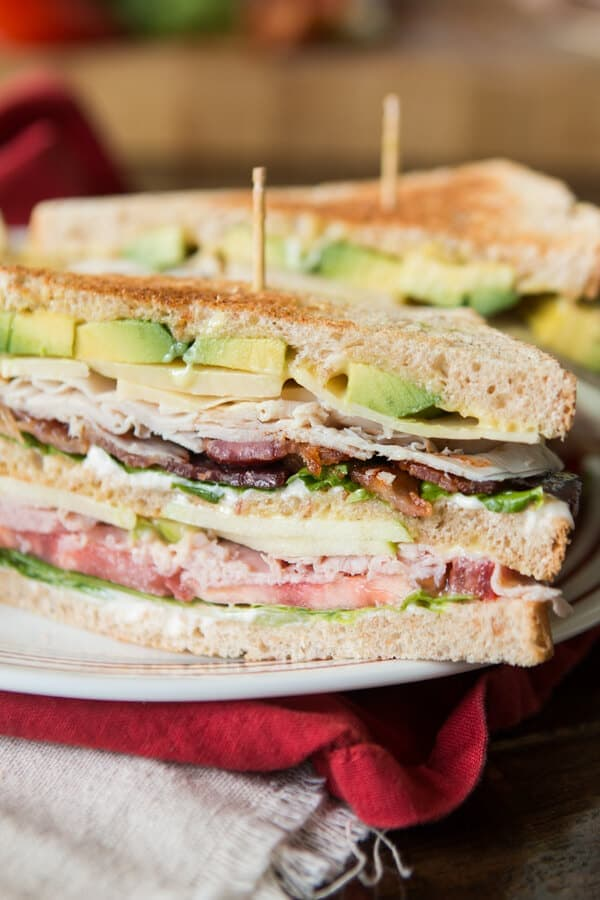 So you think you love club sandwiches, do you? You don't know good until you've had the BEST Triple Decker Club Sandwich. ohsweetbasil.com