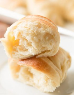 Our famous potato rolls recipe ohsweetbasil.com