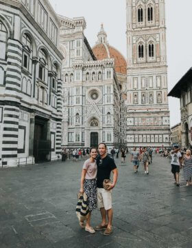 Visit the Duomo in Florence Italy in mid morning or mid evening for less crowds ohsweetbasil.com