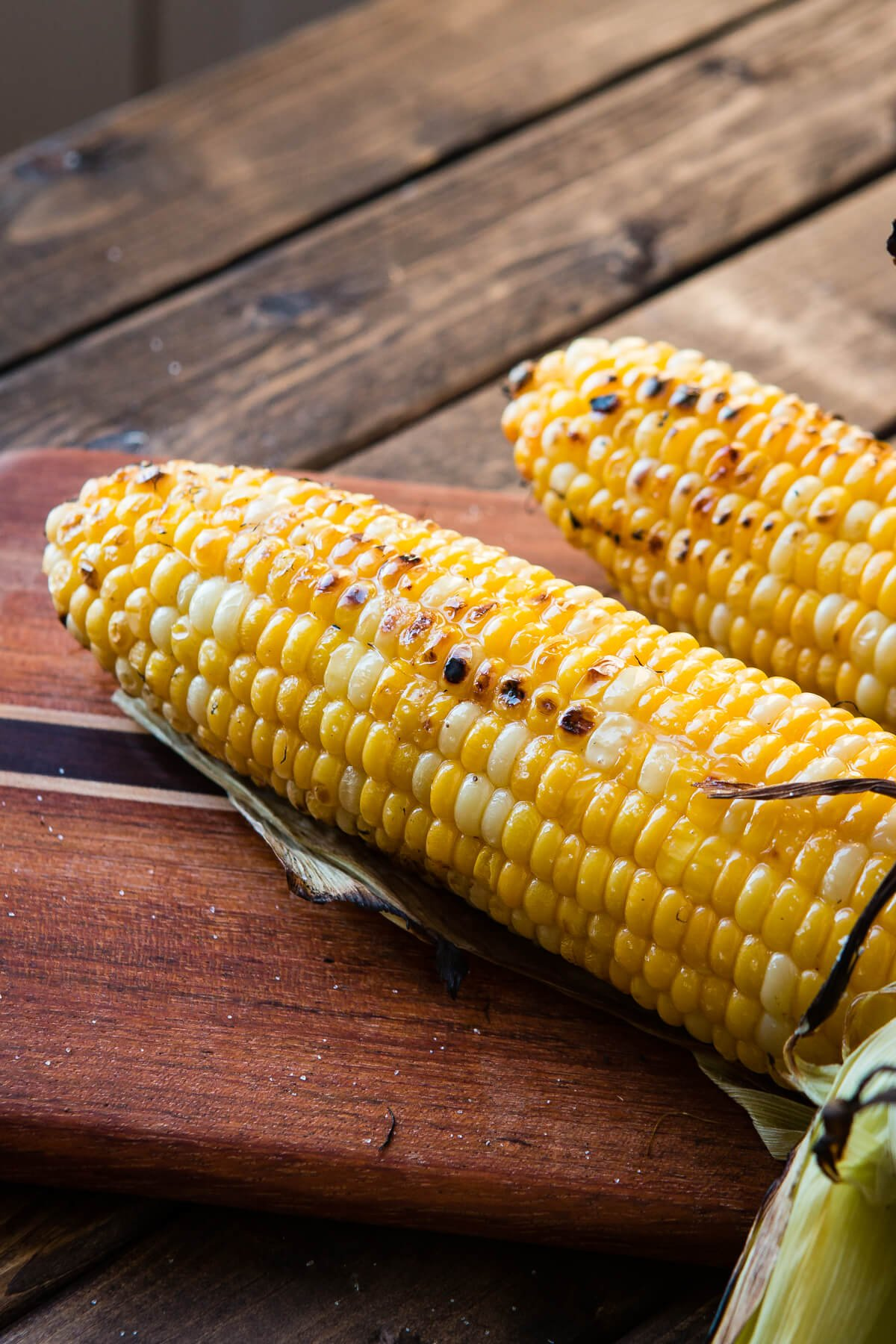 the secret to the best grilled corn on the cob oh sweet basil