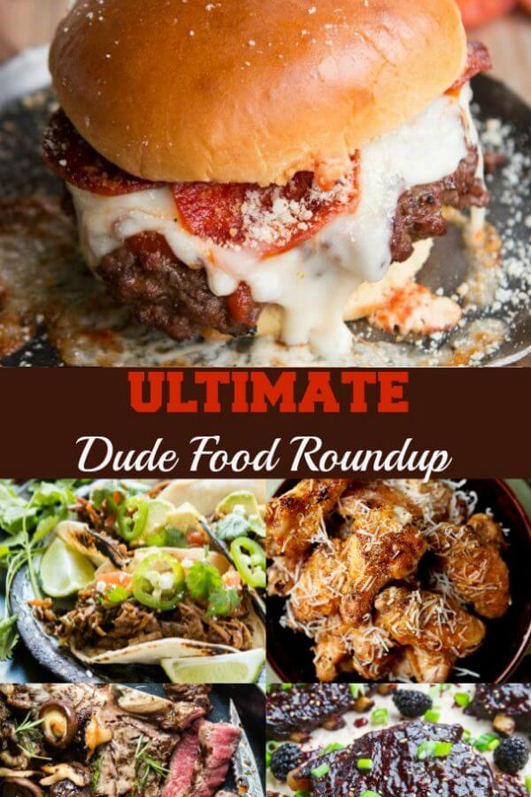 the ultimate dude food recipe roundup for father's day ohsweetbasil.com