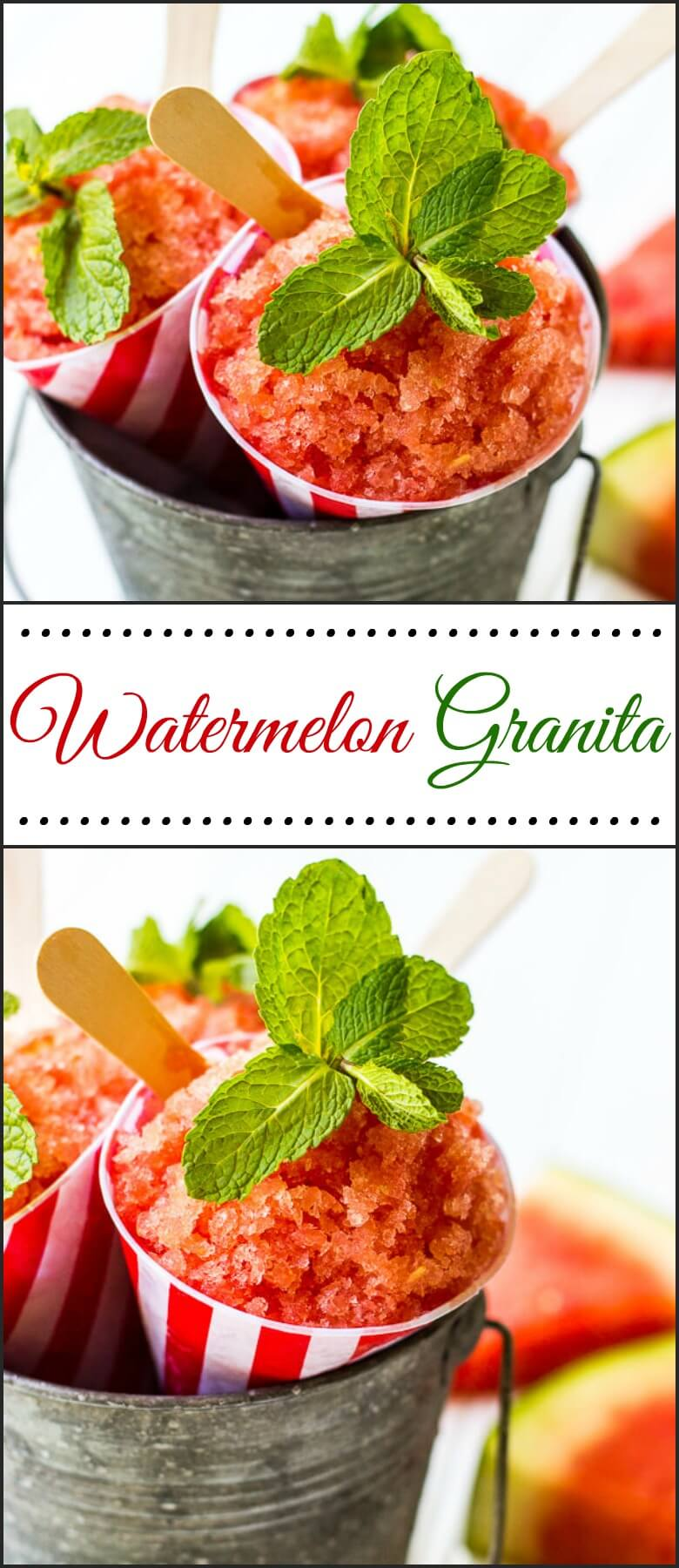 Watermelon Granita is deliciously refreshing and perfect for all your ...