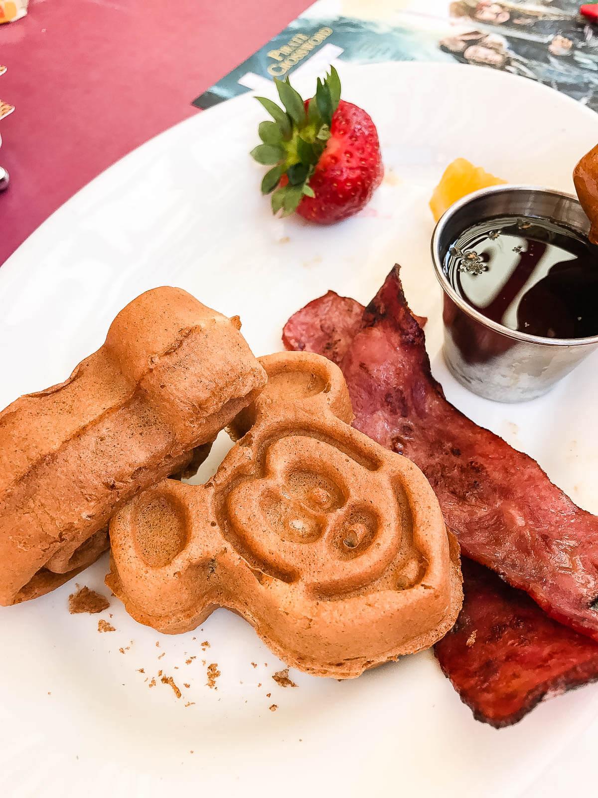 Mickey Waffles carnation cafe ohsweetbasil.com