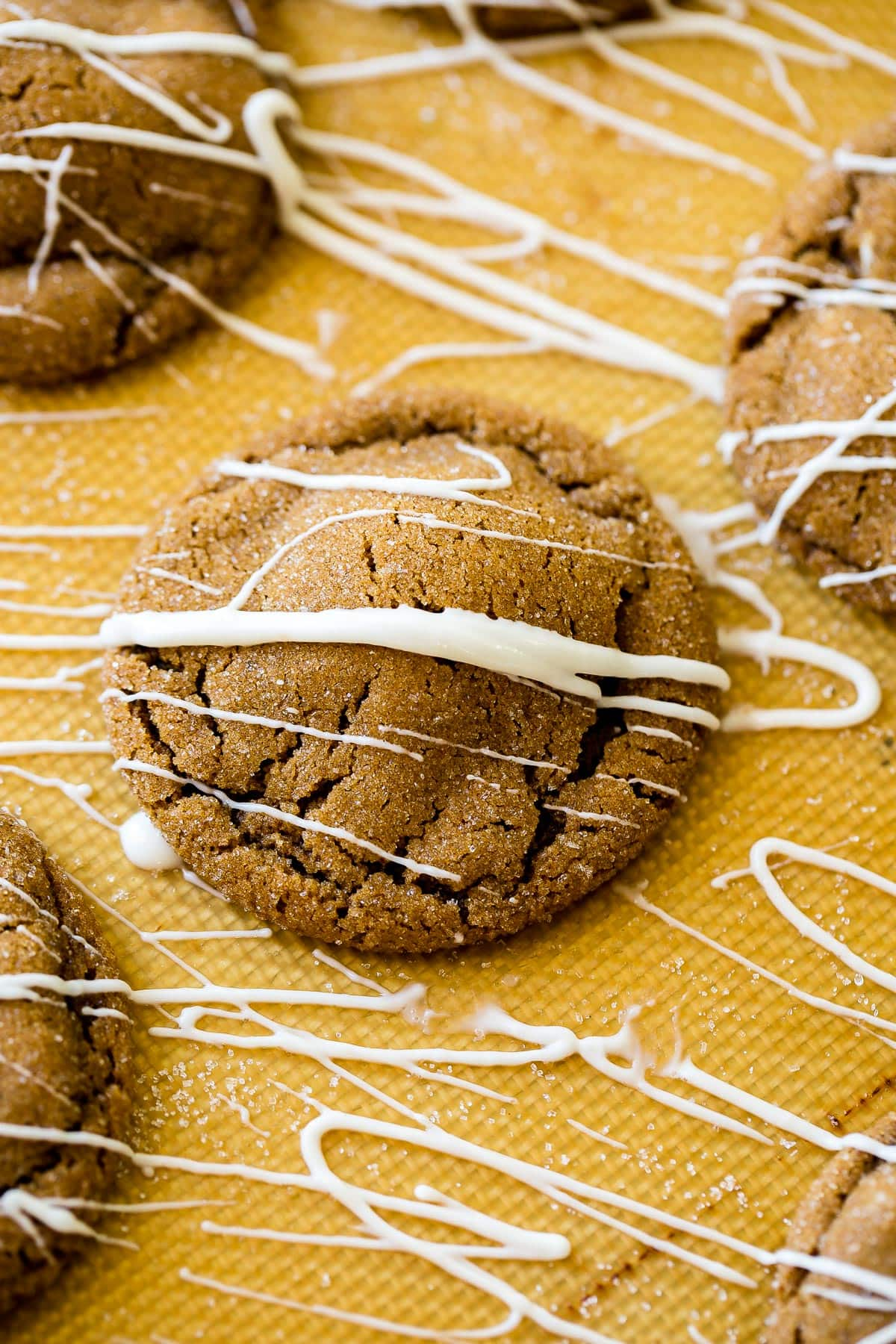 A soft and spicy molasses cookie is perfect for the holiday season, but do you know what I really love? It's a white chocolate stuffed molasses cookie ohsweetbasil.com