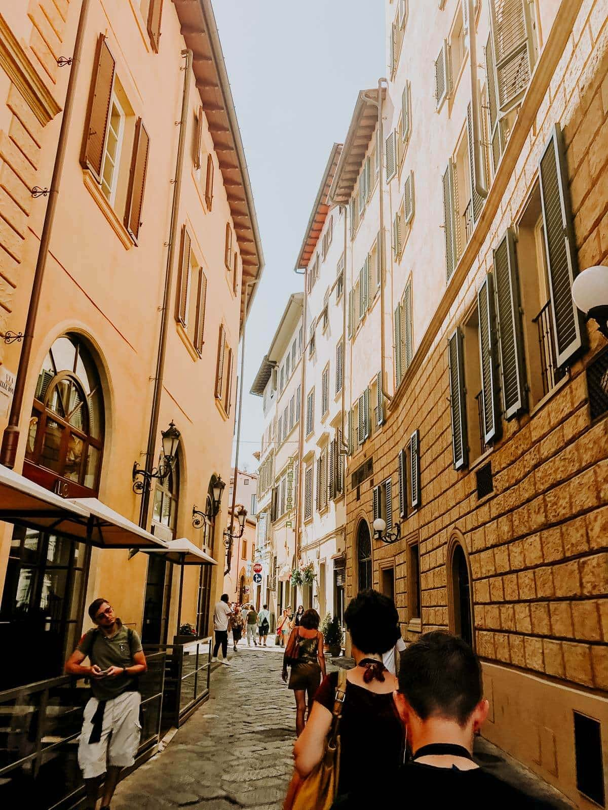 Winding Streets of Florence Italy. The best tip for traveling to Florence, just wander the streets. ohsweetbasil.com